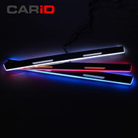 CARiD Trim Pedal LED Car Light Door Sill Scuff Plate Pathway Dynamic Streamer Welcome Lamp For Mercedes Benz W211 W212 E200 E220