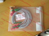 ECG Cable ECG lead of CONTEC TLC9803 3 Channel ECG Holter Monitoring Recorder System