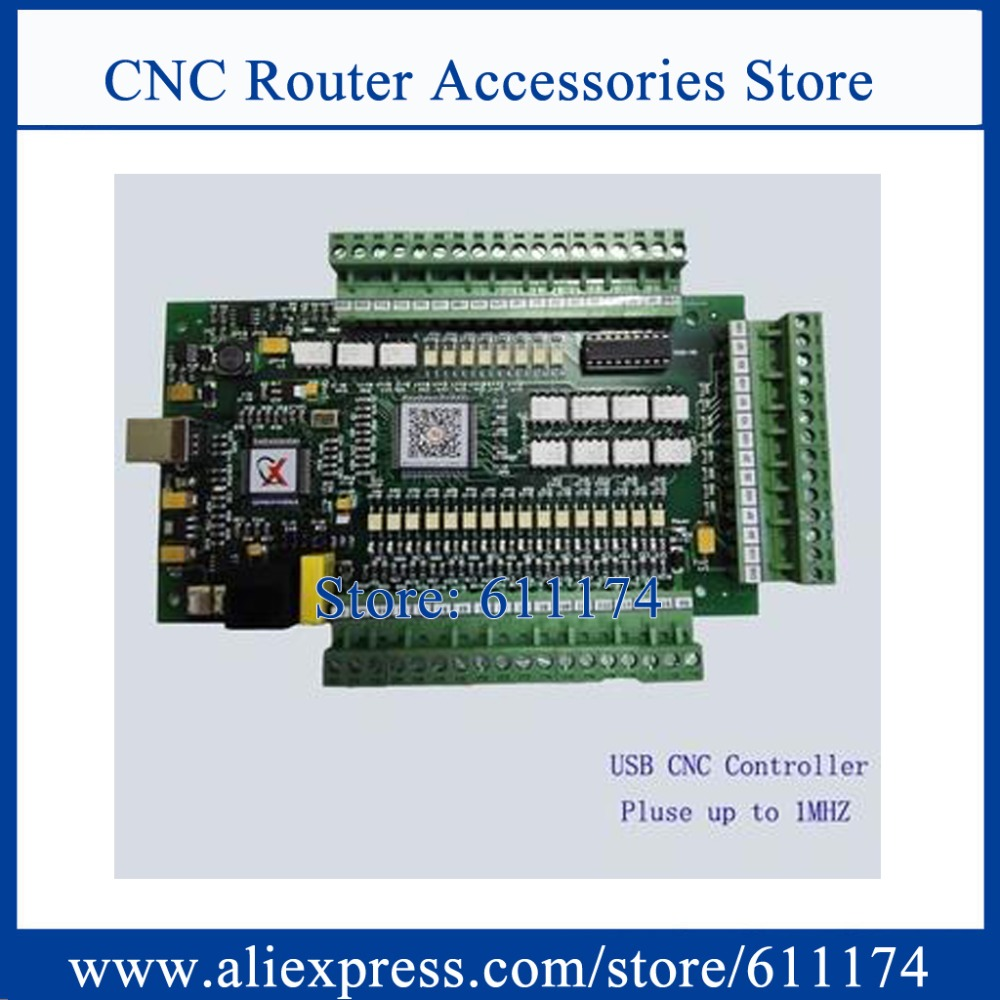 3 Achsen CNC USB MACH3 1 MHZ Breakout Schnittstelle Karte E-CUT Controller board