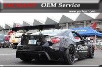 Car Styling Carbon Fiber GT Rear Trunk Spoiler Fit For GT86 FT86 ZN6 FRS BRZ ZC6 Greddy X Rocket Bunny Ver.1 Style GT Wing