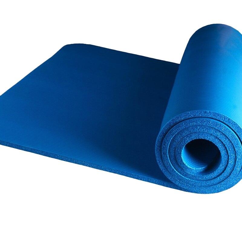 Hoge Kwaliteit Multifunctionele Yoga Matten Nbr Sling Strap Elastische Slip Fitness Apparatuur Gym Riem Voor Sport Oefening 10 Mm 183*61 Cm Haren Voorkomen Tegen Grijzing En Nuttig Om Teint Te Behouden