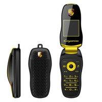 Оригинальный Newmind F15 плюс мини флип телефон автомобильный брелок Модель Dual SIM телефона Bluetooth Dialer волшебный голос Русская клавиатура