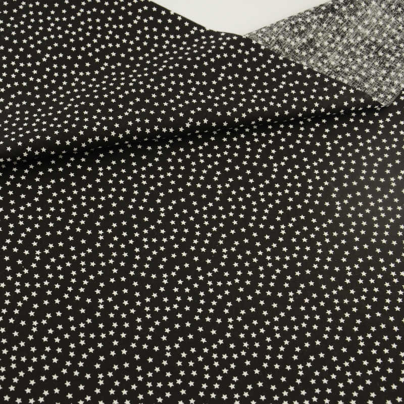 100% Cotton Fabric Cuted White Star Design Patchwork Fat Quarter Clothing Sewing CM Home Textile Doll Scrapbooking Decoration