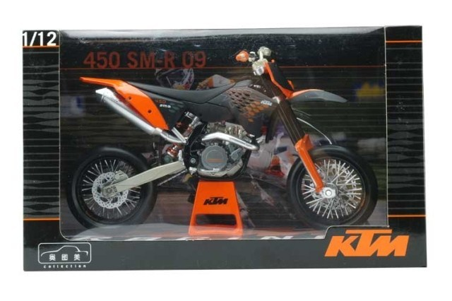 1:12 KTM 450 SMR 09 Dirt Bike Motorcycle New in Box