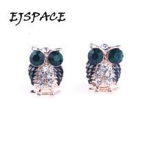 Femme 2016 Fashion Owl Stud Earrings Boucle d oreille Owl Earrings for Women Bijoux Jewelry Brincos