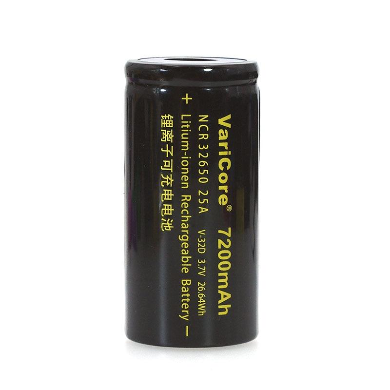 Image 3 - VariCore 3.7 V 32650 7200 リチウムイオン二次電池 20A 25A 連続放電最大 32A ハイパワーバッテリー -    グループ上の 家電製品 からの 交換電池 の中