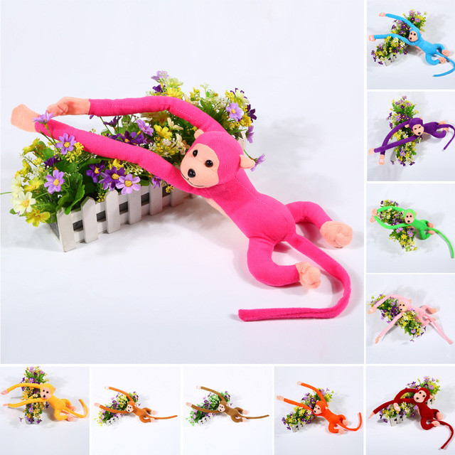 Colorful Long Monkey Plush Toy