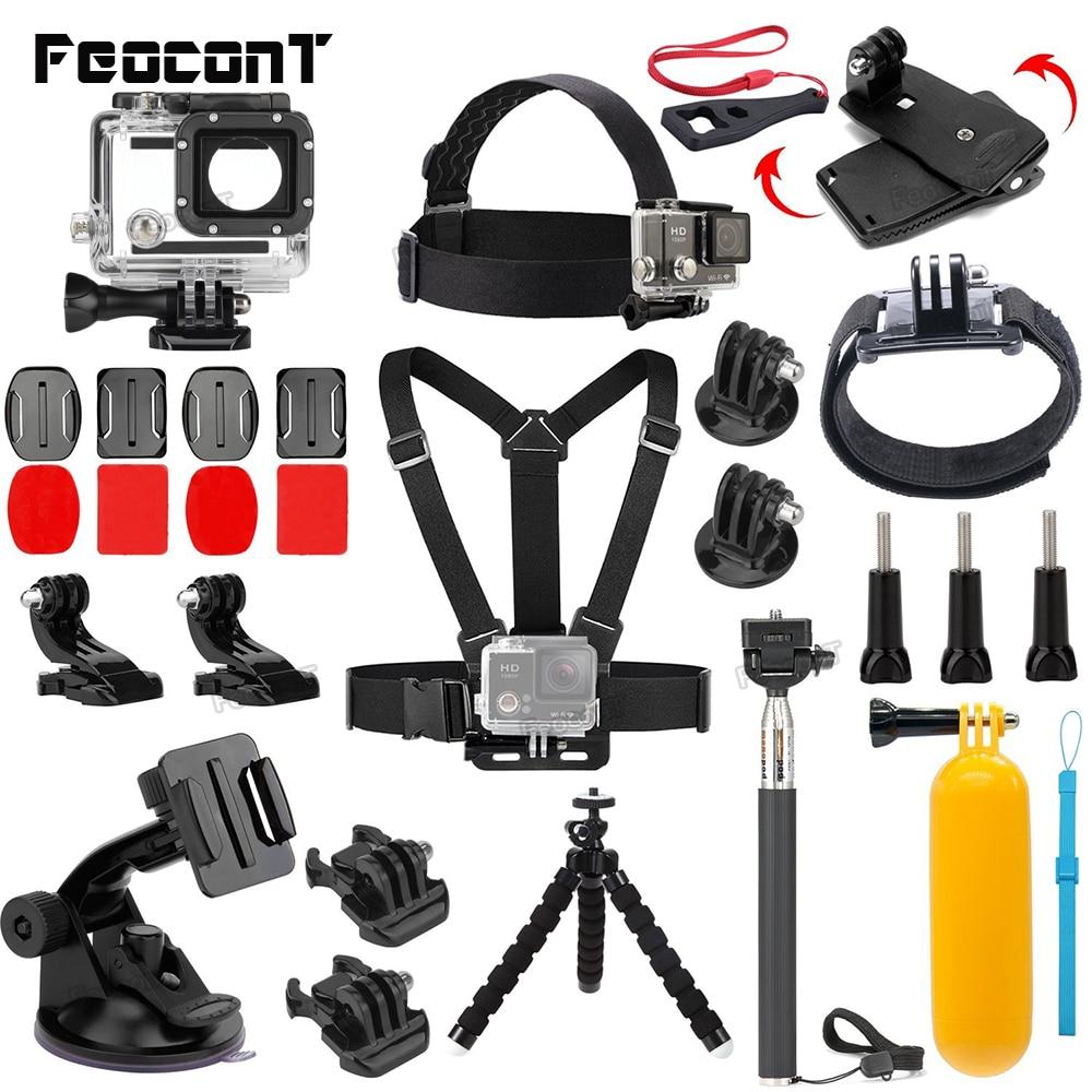 Action Camera Accessoires Waterdichte behuizingen Case Go Pro 6 - Camera en foto