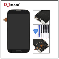 5 0 Black For Samsung Galaxy S4 I9500 LCD Display Touch Screen Digitizer Assembly With Bezel