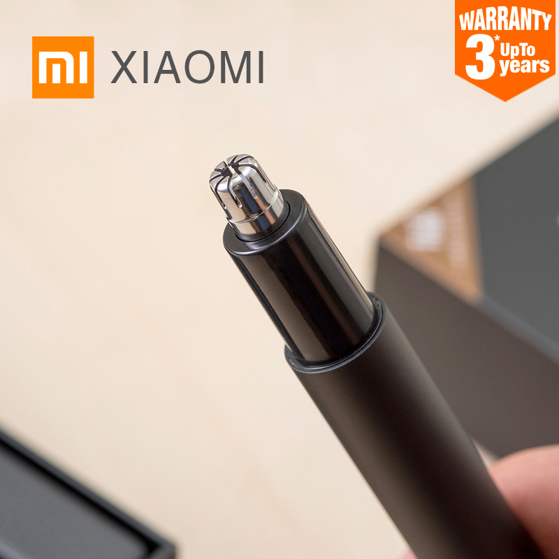 Xiaomi Mini Electric Nose Hair Trimmer HN1 Portable Minimalist Ear Nose Hair Shaver Clipper Waterproof Safe For Family Daily Use