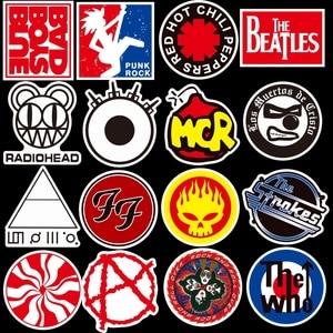 50 шт./лот, крутые модные рок-наклейки для ноутбука, скейтборда, планшета, телефона, чехла, шлема, водонепроницаемые наклейки с граффити, упаковка детских игрушек