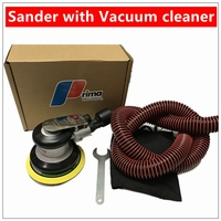 High Quality Pneumatic Sanders Air Eccentric Orbital Sanders 5 125mm Cars Polishers Air Tools With Vacuum