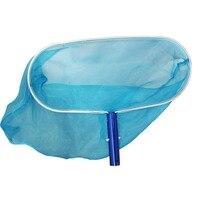 Aluminum Deep Mesh Bag Leaf Rake Skimmer Net for Swimming Pools