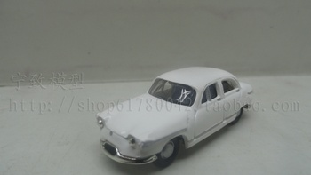Special wholesale 1:87 scale Simulation mini alloy car,Simulation NOREV white classic car,Collection toy model,free shipping image