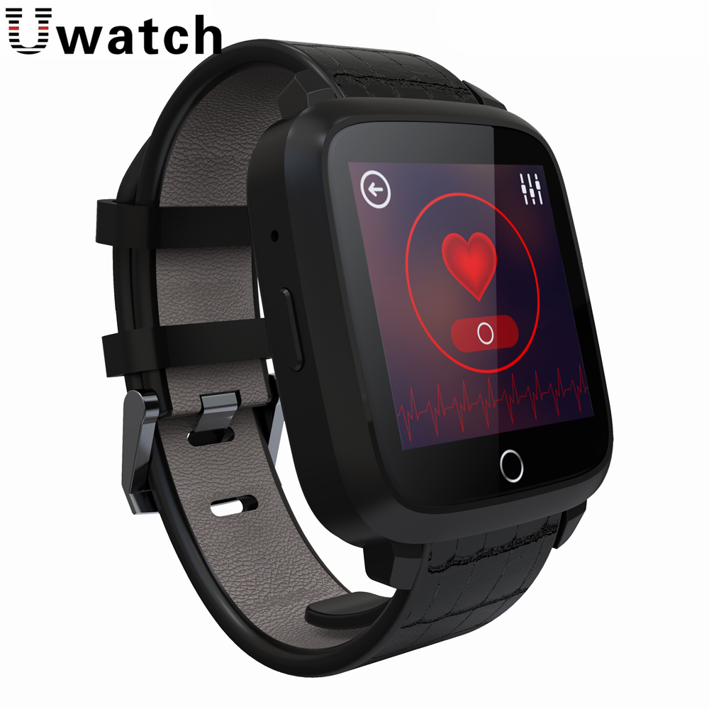 imágenes para Uwatch U11S MTK6580 Quad A Core 1G + 8G Android 5.1 Apoyo Reloj Inteligente GPS Wifi SIM Cámara Corazón Pulsómetro Brújula Smartwatch