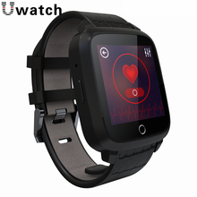 Uwatch U11S MTK6580 Quad Core 1G+8G Android 5.1 Smart Watch Support GPS Wifi SIM Camera Heart Rate Monitor Compass Smartwatch
