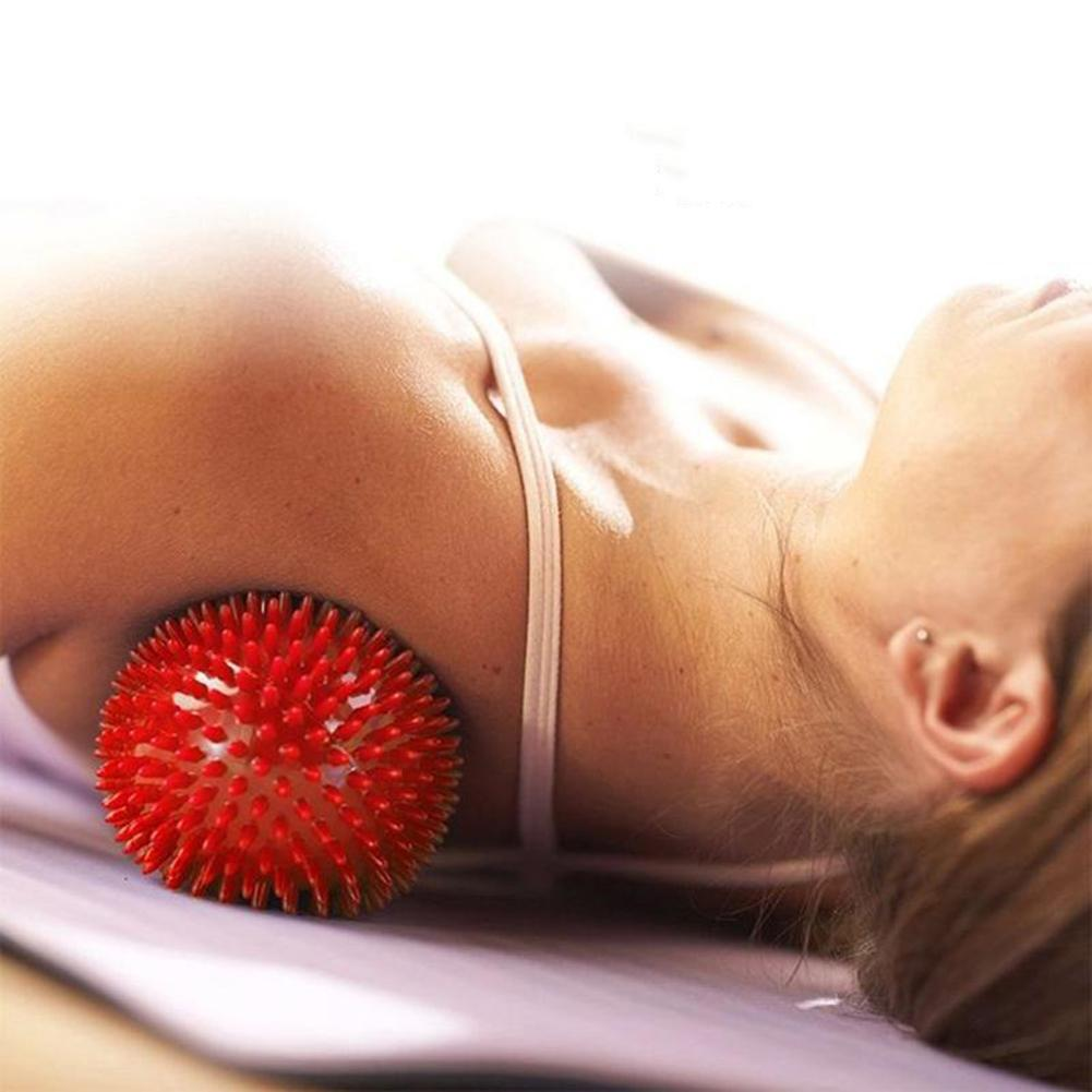 Peanut Body Massage Ball Spiky Point Muscle Pain Relief