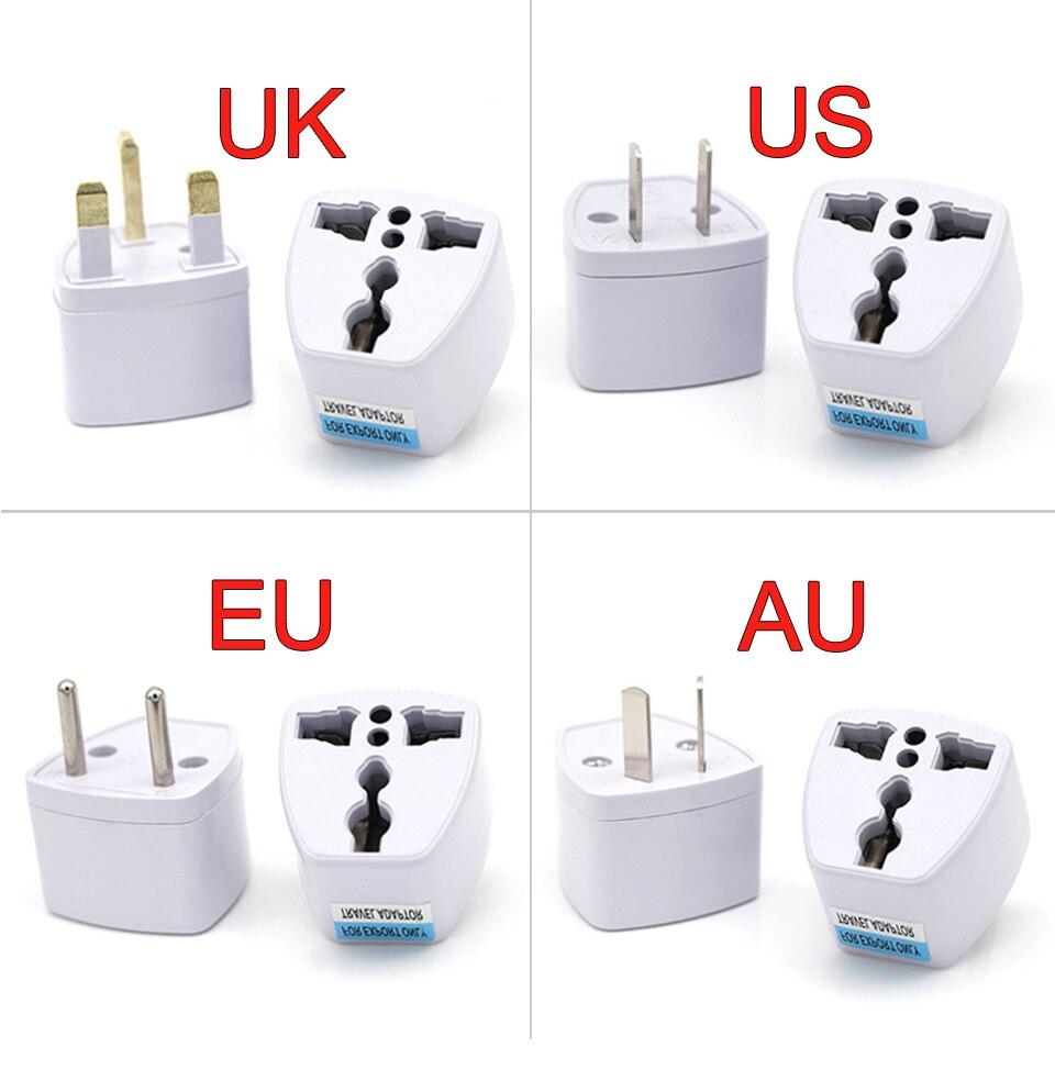 1PC Universal UK US AU EU AC Power Socket Plug Travel Electrical Charger Adapter Converter Japan China America Italy Switzerland (1)