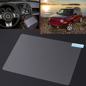 Image 2 - 8.4 inch GPS Navigation Screen Steel Protective Film For Jeep Grand Cherokee SRT Compass 2019 2019 Control of LCD Screen Sticker