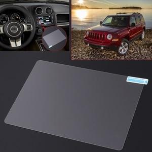 Image 2 - Film protecteur en acier décran de Navigation de GPS de 8.4 pouces pour la boussole 2019 de Jeep Grand Cherokee SRT contrôle de lautocollant décran daffichage à cristaux liquides 2019
