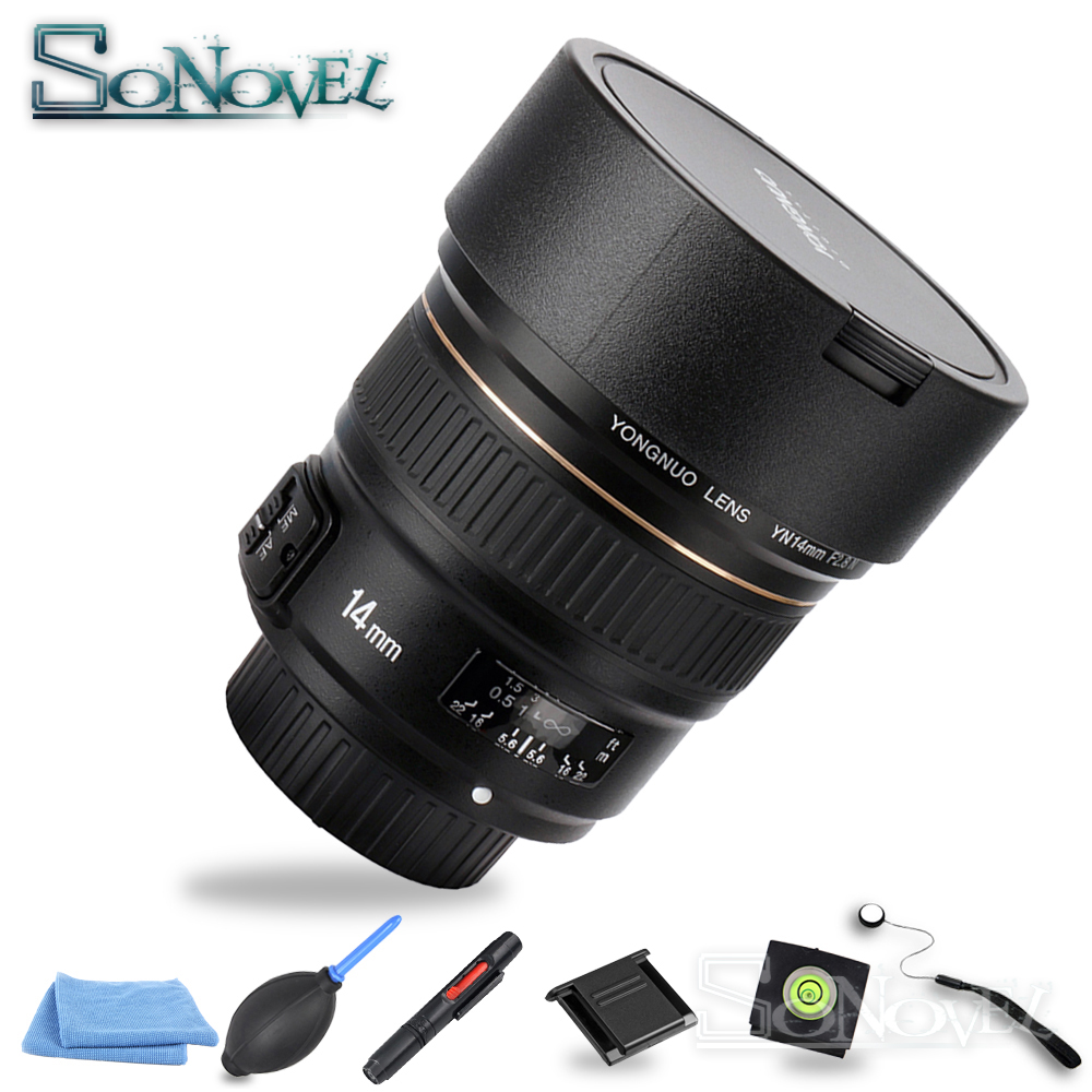 YONGNUO 14mm Ultra-wide Angle Prime Lens YN14mm F2.8N Auto Focus Metal Mount for Nikon D850 D750 D810a D800E D500 D610 D5 D4S D3 meike mk d750 battery grip pack for nikon d750 dslr camera replacement mb d16 as en el15 battery
