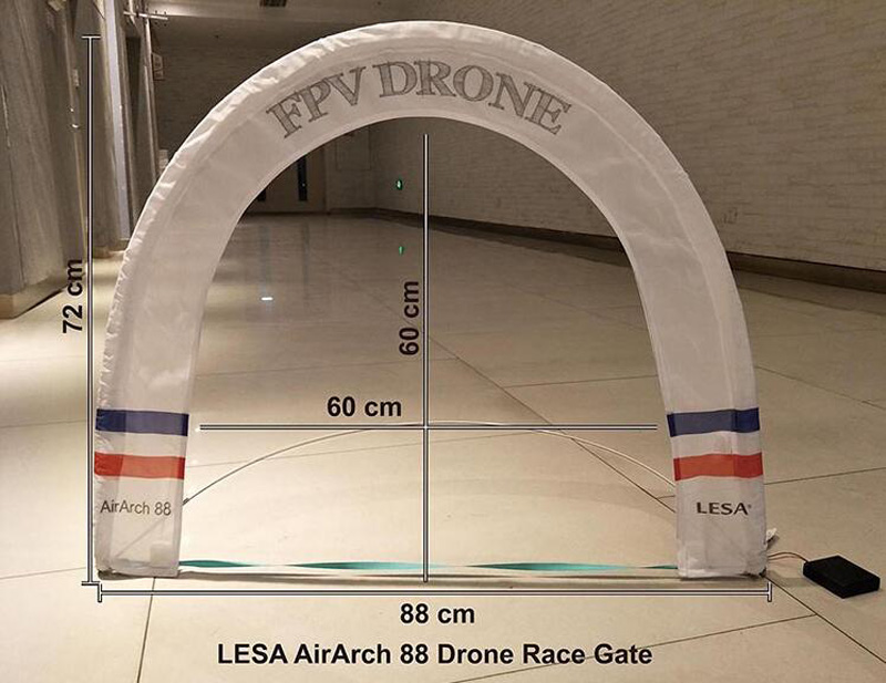 LESA Airarch 88 Drone Race Gate Gantry arch Obstacle through the door for TinyWhoop Blade Inductrix and other small RC airplane the ivory white european super suction wall mounted gate unique smoke door