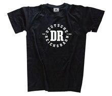 Deutsche Reichsbahn 1937-1993 Bahn DDR Eisenbahn Modellbahn T-Shirt S-3XL Harajuku Tops  Fashion Classic Unique free shipping