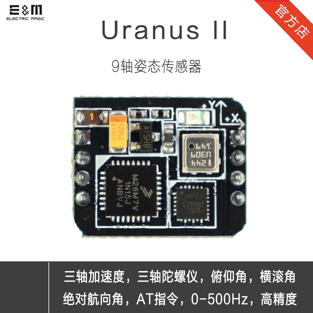 E & M 9 axes 500 hz capteur de Posture Uranus AHRS système de suivi de Module gyroscopique numérique VR Robot Capture de mouvement MPU9250 Raspberry Pi bricolage