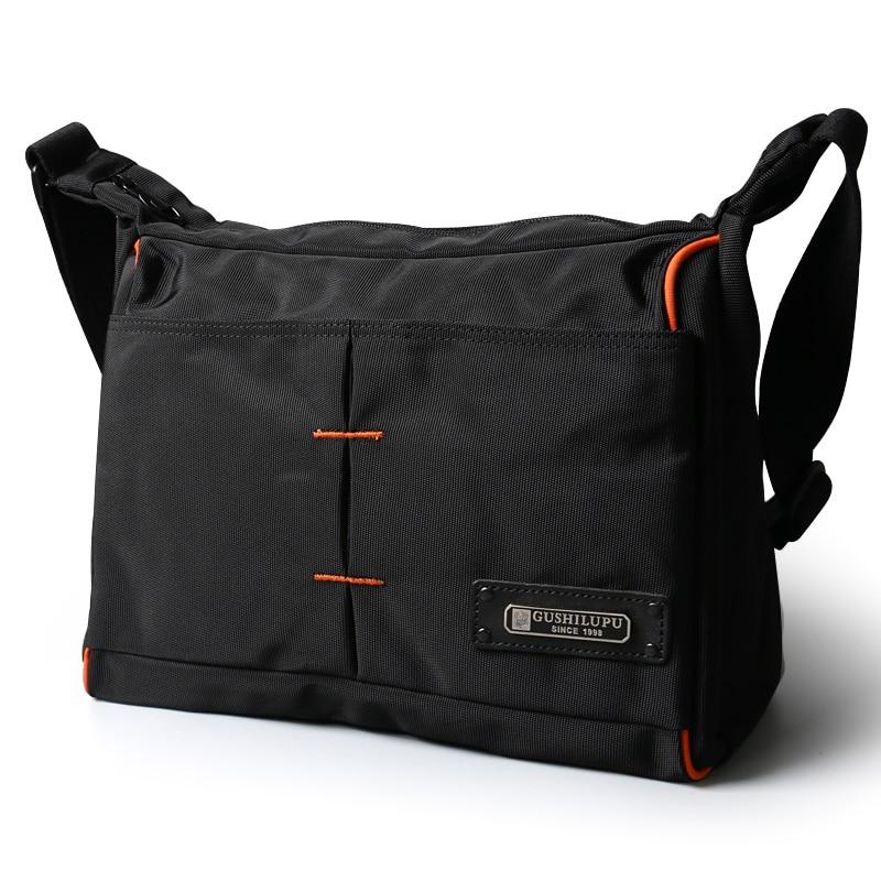 2019 Men Messenger Waterproof Bags Crossbody Bag Leisure Oxford Cloth Casual Travel Man Messenger Bag