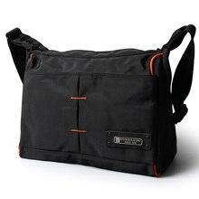 все цены на 2019 Men Messenger Waterproof Bags Crossbody Bag Leisure Oxford Cloth Casual Travel Man Messenger Bag онлайн