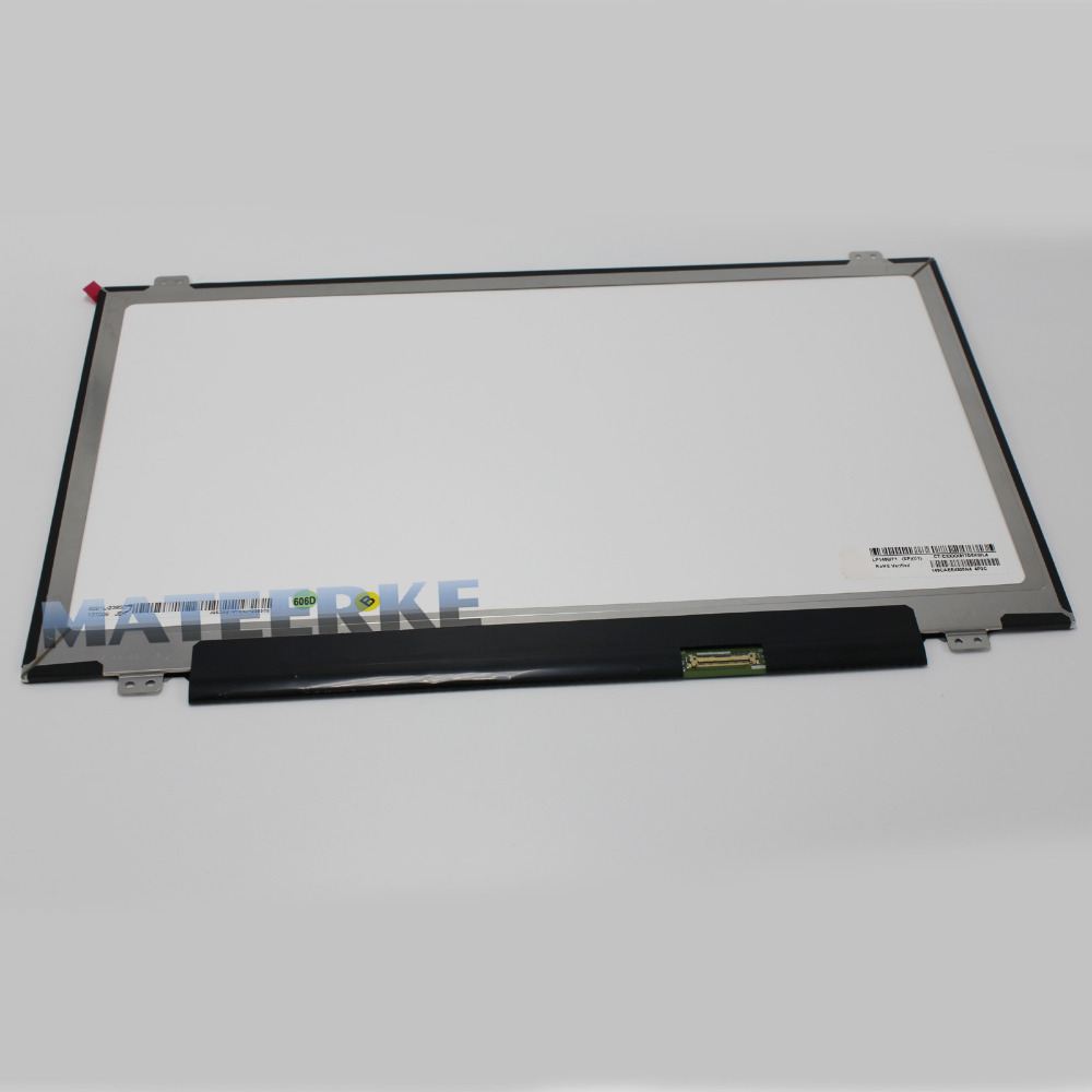 NEW 14.0 Slim LCD Screen B140RTN03.0/B140XTN03.2/N140FGE-EA2/N140FGE-EB1/N140FGE-E41/E31 B140RT02.3/LP140WD2.TPB1 eDP 1600X900