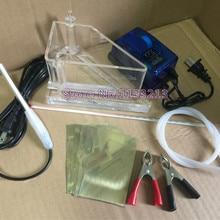 Харрингтон паз 267 мл зал паз обшивка корпус клетчатое испытательное оборудование с воздушным агитированием/нагреванием/термометром и тестовым зажимом