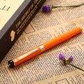 2018 Новое поступление Pimio 908 серия металлическая картина с фонтаном ручка с 0 5 мм наконечником роскошные черные/красные/оранжевые ручки в под...