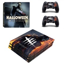 Dead by Daylight PS4 Pro Skin Sticker and 2 Controllers PS4 Pro Skin Stickers Decal Vinyl