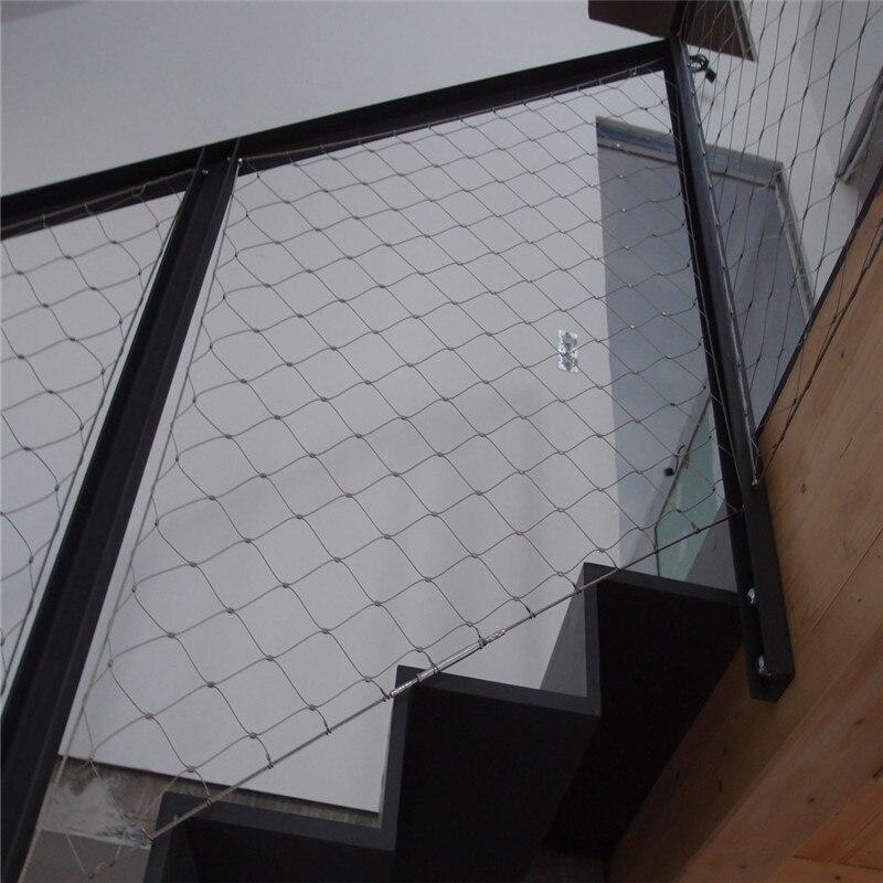 Aliexpress.com : Buy home decor ferruled x tend inox wire rope mesh ...