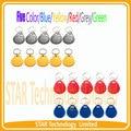 10 PCS 125 KHz Rfid Proximidade ID LOS Formato de Cartão para Controle de Acesso, Muitas cores para você, azul, Amarelo, Red. Grey
