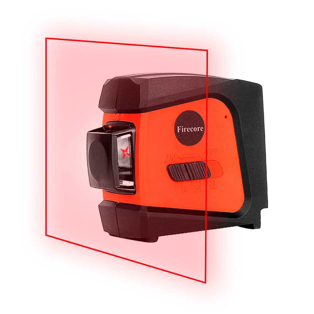 Firecore A8846 Mini 4 Lines 360 Degrees Red Laser Level (Auto Self-Levelling In the Range of 3 Degrees ) the unhappy giant level 3