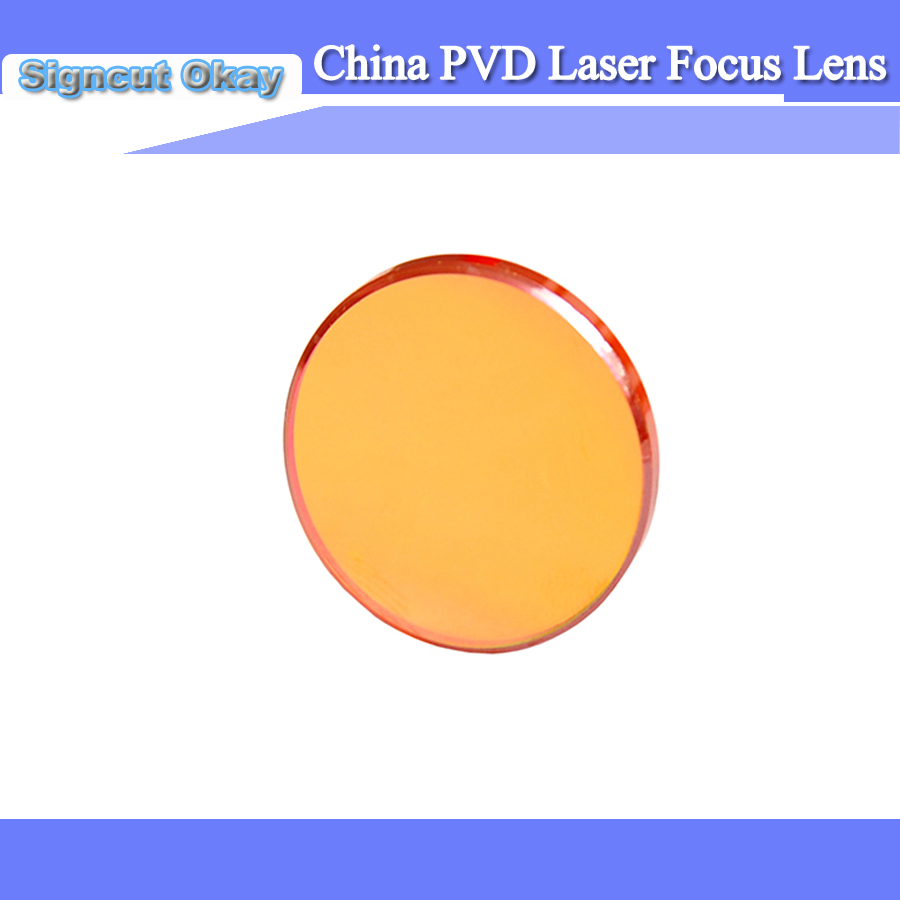 Laser Focus Lens Dia 20 Mm FL 50.8 Mm Focus Lens China Znse With Laser Engraving Cutting Machine Parts For Free Laser Lens