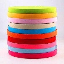 Красочные эластичные ленты 20 мм плоская швейная резинка нижнее белье трусики резиновая одежда аксессуары для шитья мягкий эластичный пояс 1 м