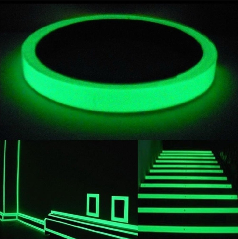 3M/10M Creative Luminous Self-adhesive Tape Night Vision Glow In Dark Safety Warning DIY Party Creative Wall Decoration image