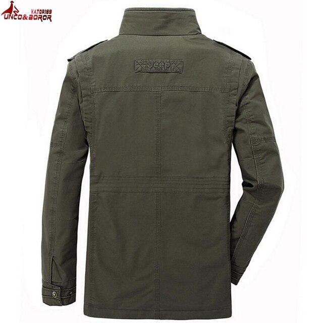 plus size 6XL 7XL 8XL 100% cotton Jackets Men Military Cargo Jackets Tactical Combat Business male Coat Pilot Bomber Jackets men 4