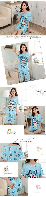 Джингл кошки пижамный комплект Женский Мопс печати 2 шт. комплект укороченный топ + шорты Эластичная талия пижамы Свободная Домашняя одежда пижамы, одежда для отдыха