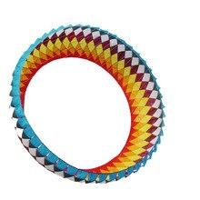 Новые летающие игрушки 2,5 м одна линия мягкая больших воздушных змеев прочный нейлон продажи Ветроуказатель надувной змей фестиваль