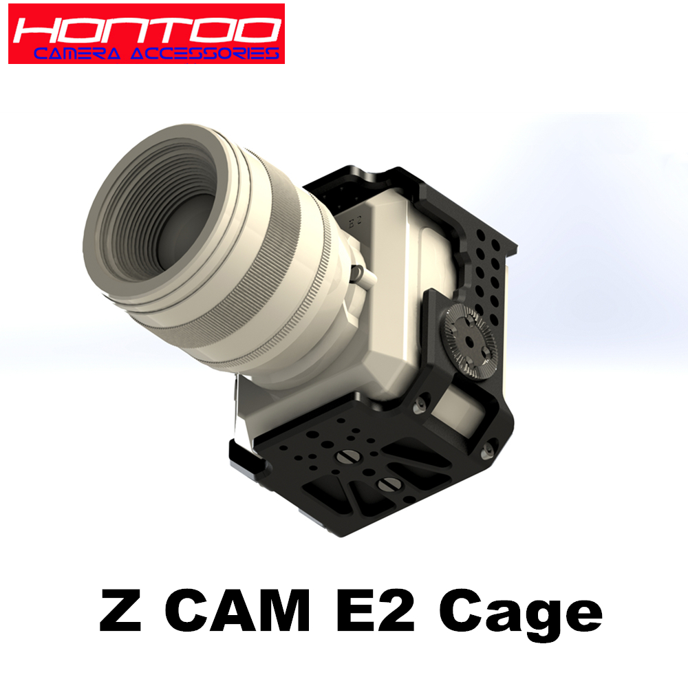 Z CAM Cage for Z cam E2 Camera Quick Release Top Handle Dual wooden side handle Z Cam E2 Camera Cage Top handle VS SMALLRIG