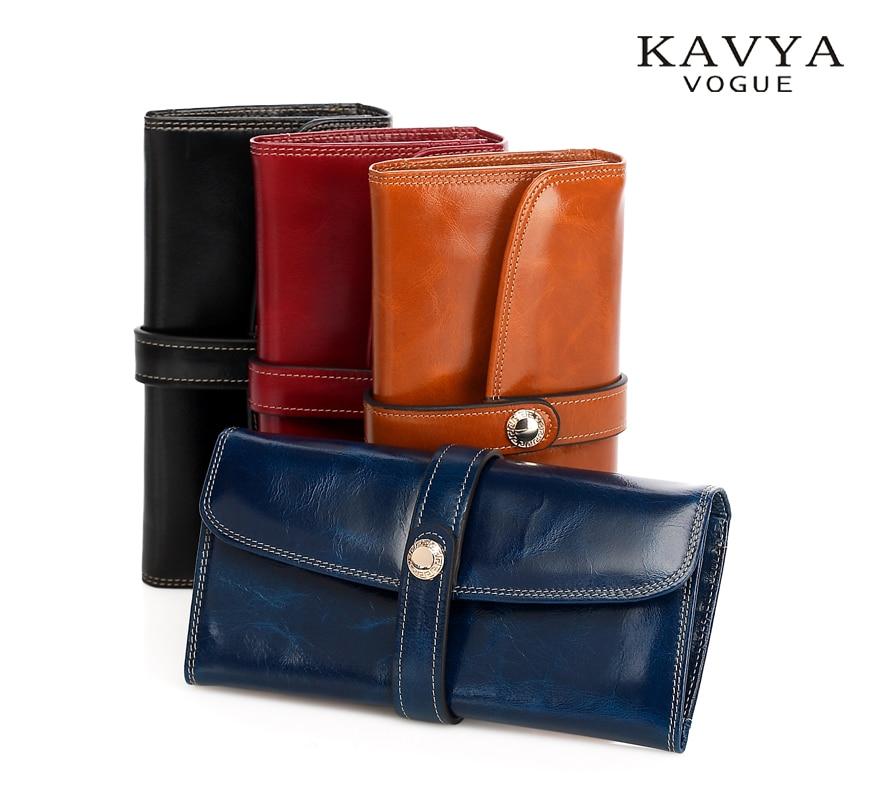 New Fashion Women Leather Handväska Retro Euro Designer Luxury - Plånböcker
