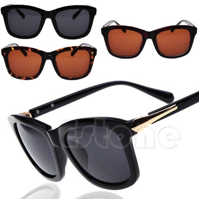 Nowe Plastikowe Ramki Kwadratowe Okulary Przeciwsłoneczne Okulary W Stylu Vintage Okulary W Stylu Retro Kobiet