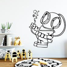 Fashionable Mask Man Home Decorations Pvc Decal Nursery Kids Room Wall Decor Removable Mural декоративные украшения poetry man home decorations 2158c