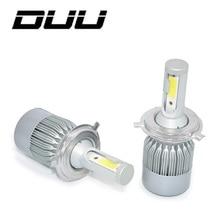 цены на DUU Car Headlight Bulbs H7 H4 LED H8/H11 HB3/9005 HB4/9006 H1 H3 9012 H13 9004 9007 60W 3000lm Auto Headlamp 6000K Light в интернет-магазинах