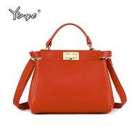 YBYT Brand 2018 New Fashion Women Handbag High Quality Evening Bag Ladies Casual Shoulder Packet Female