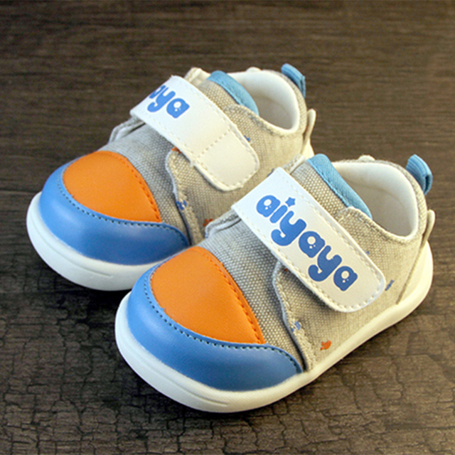 Soft Sole Baby Shoes Moccasin Infant Boys Meisje Schoenen Fabric Baby Booties Shoes Canvas Sneakers First Walker 603122